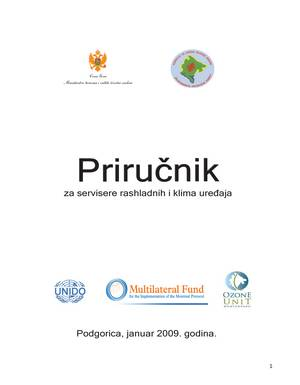 Priručnik za servisere rashladnih i klima uređaja prvo izdanje