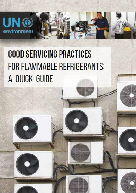 Good servicing practices for flammable refrigerants