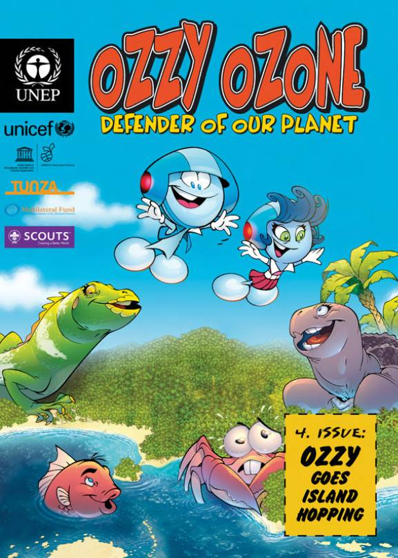 Ozzy goes Island Hopping