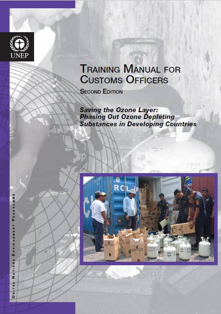 Training manual for customs officers